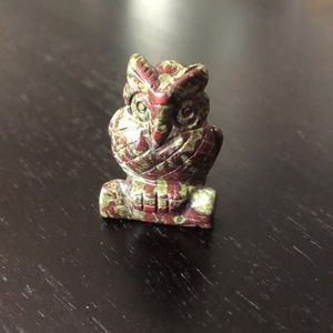 Other - Bloodstone owl carving